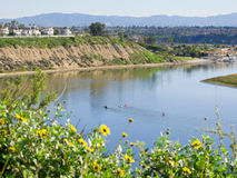 Newport-Strand, Kalifornien lizenzfreie stockfotografie