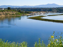 Newport-Strand, Kalifornien lizenzfreies stockfoto