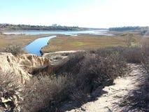 Newport strand Kalifornien Arkivbilder