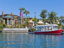 Newport-Strand, Kalifornien, USA. Lizenzfreies Stockfoto