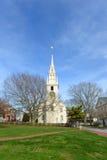 Newport trójcy kościół, Rhode - wyspa, usa Obrazy Royalty Free