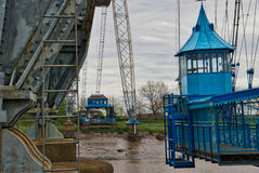 Newport transporter bridge Stock Photos