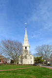 Newport Trinity Church, Rhode Island, USA Stock Photos