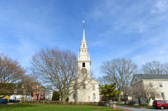 Newport Trinity Church, Rhode Island, USA Royalty Free Stock Photos