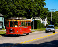 Newport Trolley Bus Royalty Free Stock Photos
