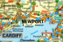 Newport, Wales, United Kingdom. UK - Europe stock image
