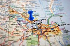 Newport wiadomość, Virginia Fotografia Royalty Free