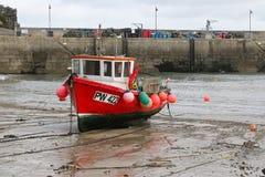 Newquay港口Cornwall 免版税图库摄影