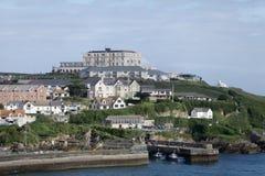 Newquay港口Cornwall 免版税库存照片