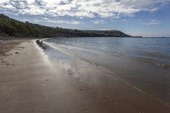 Newquay κατά τη λιμενική άποψη της Ουαλίας στοκ εικόνες