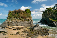 Newquay beach, Cornwall Stock Photos