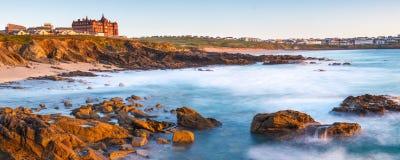 Newquay Cornwall Anglia Obrazy Stock