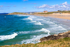Newquay Cornwall England Arkivbilder