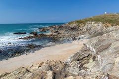 Newquay Cornwall England Fotografering för Bildbyråer