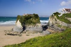 Newquay - Cornwall - het Verenigd Koninkrijk royalty-vrije stock fotografie