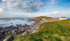 Newquay in Cornwall Royalty Free Stock Photo