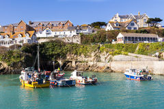 Newquay Harbour Stock Image