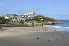 Newquay Harbour in Cornwall, England Stock Photo