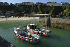 Newquay Harbour Cornwall Stock Images