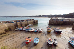 Newquay harbour North Cornwall England UK Royalty Free Stock Images