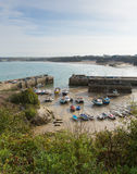 Newquay harbour North Cornwall England UK Stock Image