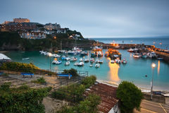 Newquay harbour, UK. Stock Image