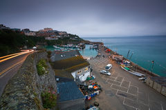 Newquay harbour, UK. Stock Photography