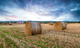 Newquay at Harvest Time Royalty Free Stock Photography