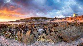 Newquay w Cornwall zdjęcie stock