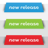 NewRelease_TopBanners Royalty Free Stock Photography