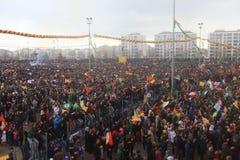 Newroz à Diyarbakir, Turquie Image stock
