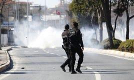 Newroz à Istanbul, Turquie Image libre de droits