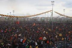Newroz en Diyarbakir, Turquía Foto de archivo