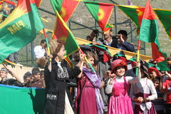 Newroz party Stock Photography