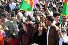 Newroz party Royalty Free Stock Photos