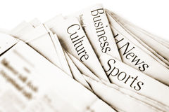 Daily News Stock Photography