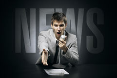 News Royalty Free Stock Photography