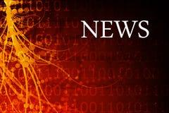 News Abstract Royalty Free Stock Photo