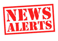 Free NEWS ALERTS Stock Photography - 88005592