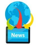 News from around the world Stock Image