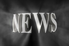 News Background Royalty Free Stock Photography