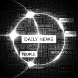 DAILY NEWS Royalty Free Stock Images