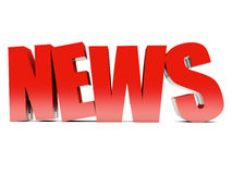 NEWS background Stock Photos