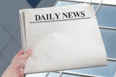 Daily News Royalty Free Stock Photos
