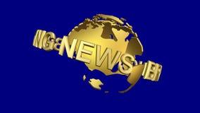 News Break with Globe stock video