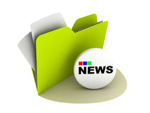 News button Stock Images