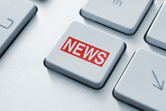News Button Royalty Free Stock Images