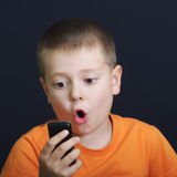 News from cellphone Stock Images