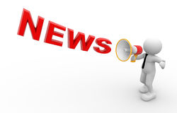 News concept Stock Images