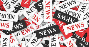 News Concept Royalty Free Stock Photos